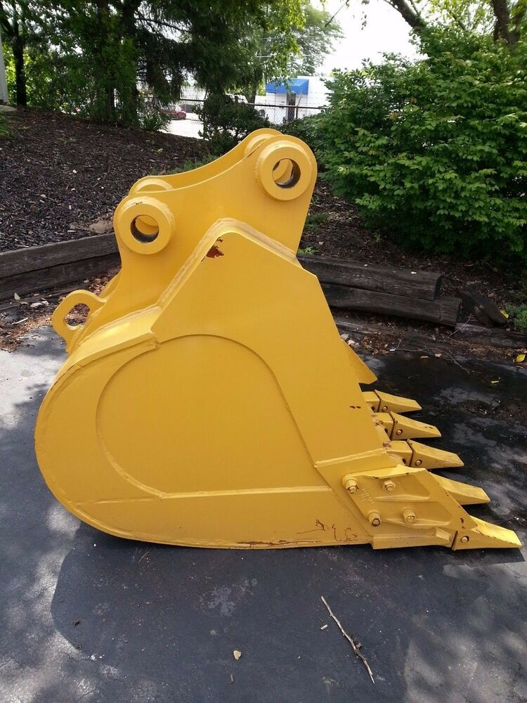 Excavator Bucket : New quot caterpillar heavy duty excavator bucket ebay