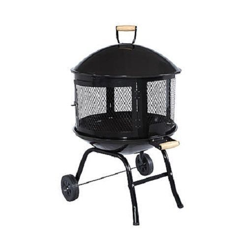Portable Fire Pits For Patios : Outdoor fire pit portable backyard patio garden firepit