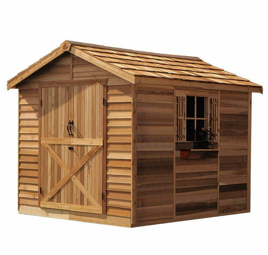 Cedarshed Rancher 8x12 Shed R812 Ebay
