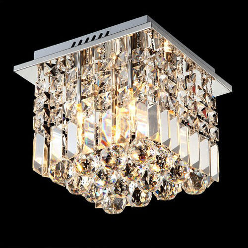 25CM Modern Contemporary Chandelier Crystal Ceiling Light ...