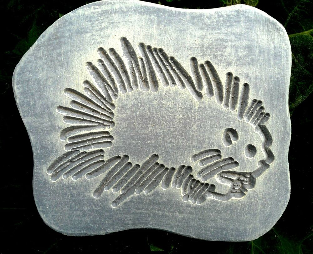 plaster concrete plaque plastic mold animal hedgehog mold. Black Bedroom Furniture Sets. Home Design Ideas