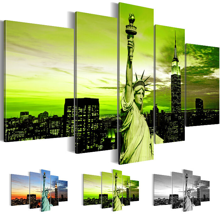leinwand bilder bild kunstdruck new york skyline schwarz. Black Bedroom Furniture Sets. Home Design Ideas