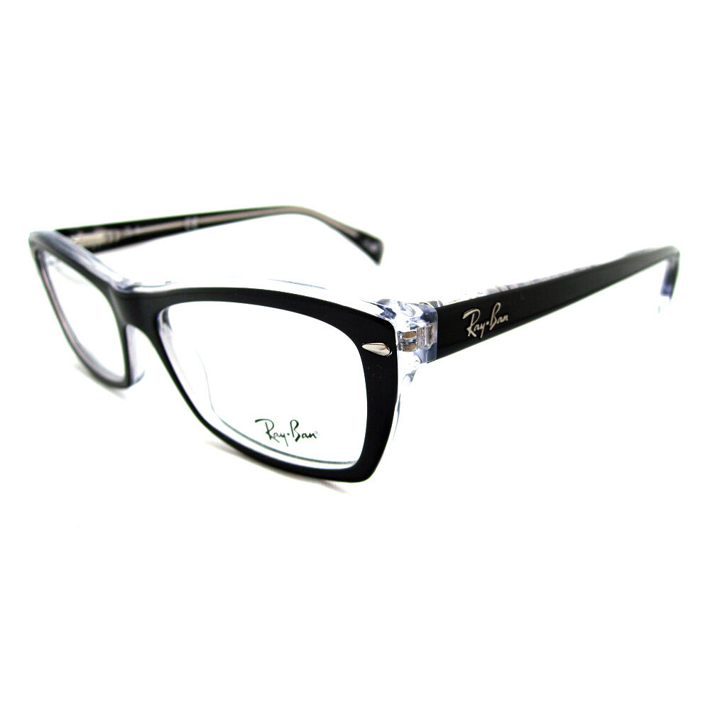 Ray-Ban Glasses Frames Eyeglasses 5255 2034 Top Black On ...
