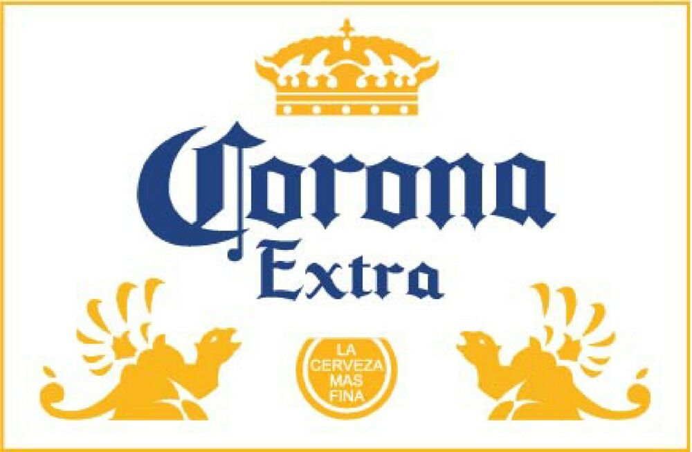 CORONA EXTRA Sticker Decal DIFFERENT SIZES Mexican Beer