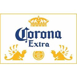 CORONA EXTRA Sticker Decal *DIFFERENT SIZES* Mexican Beer Cerveza Car Bumper Bar