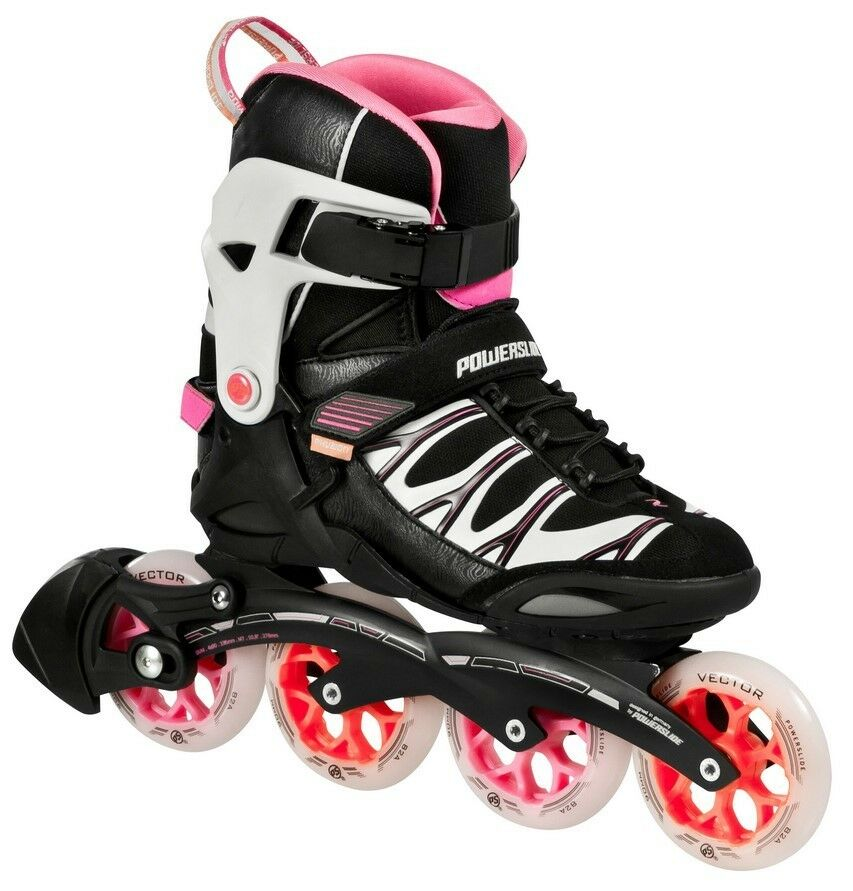 Powerslide Quad Skates: Powerslide Phuzion Zeta Women's Inline Skates, Many Sizes
