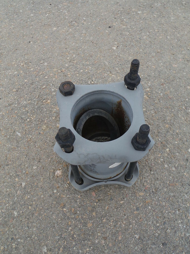 Dresser coupling quot pipe plumbing fittings water sewer