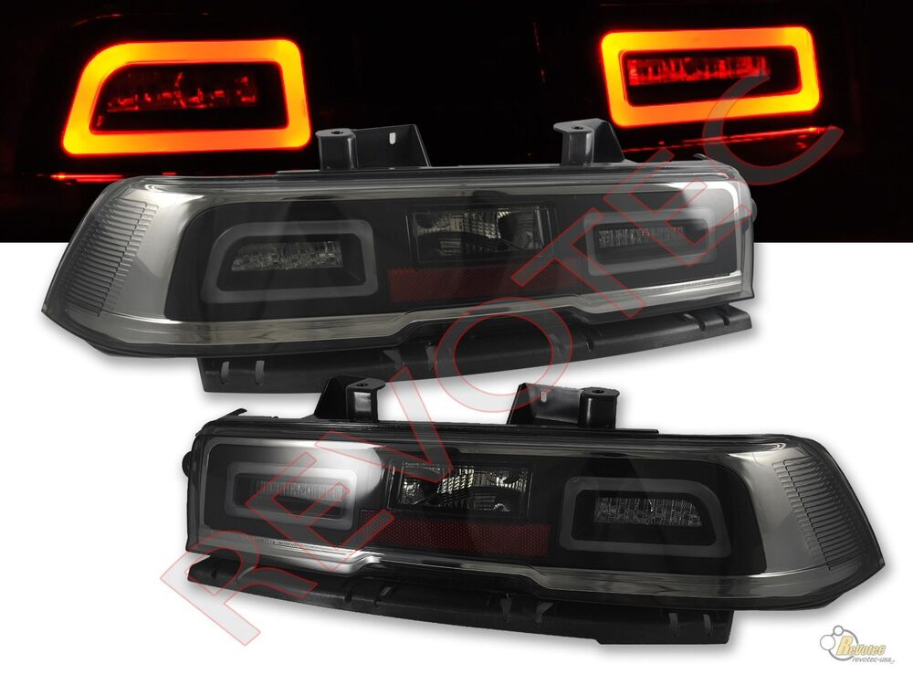 smoke led tail lights 2014 2015 chevy camaro rh lh 1 pair play. Cars Review. Best American Auto & Cars Review