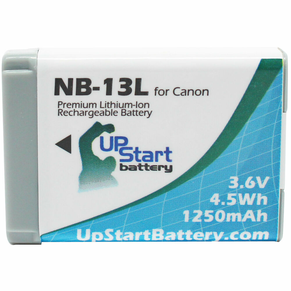 Battery For Canon Nb 13l Battery Ebay