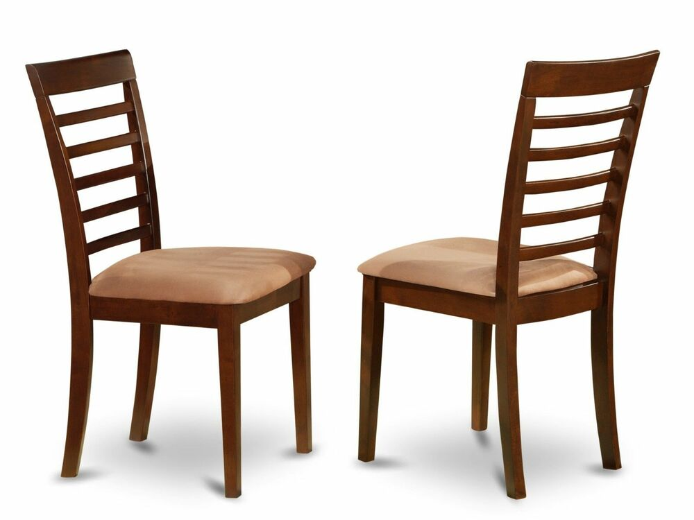 Set of 2 Milan dinette kitchen dining chairs w microfiber  : s l1000 from www.ebay.com size 1000 x 750 jpeg 51kB