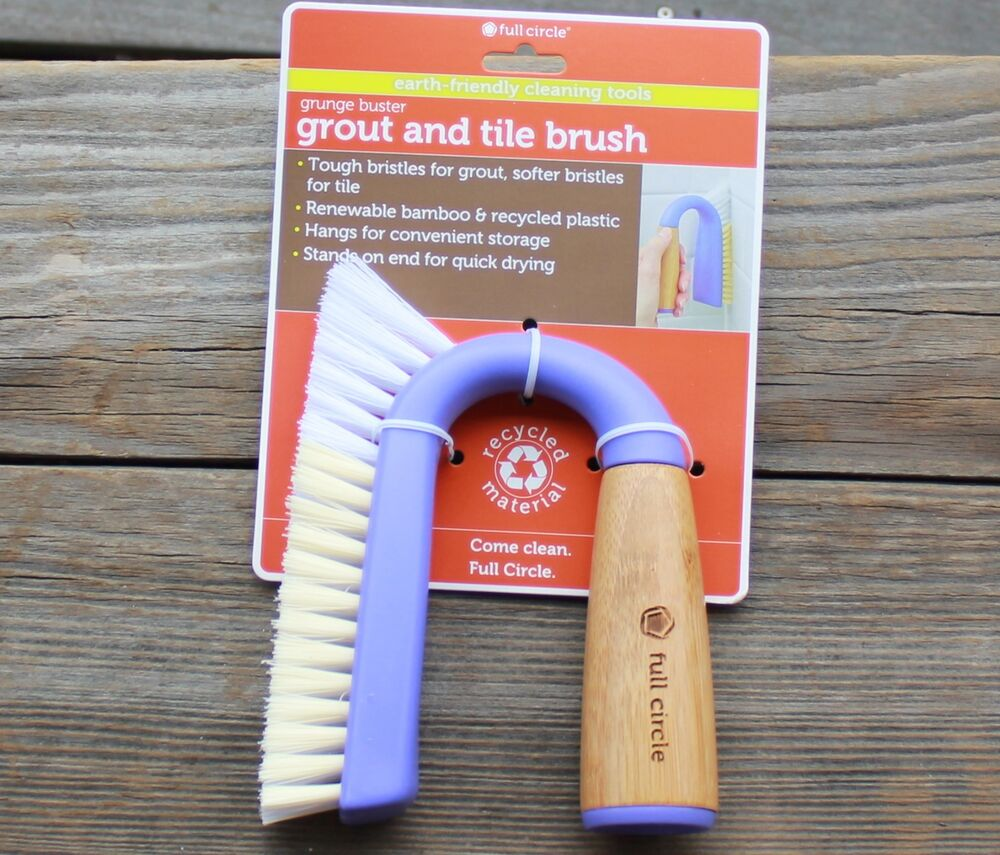 Grout Amp Tile Brush Kitchen Scrubber Dish Cleaning Full