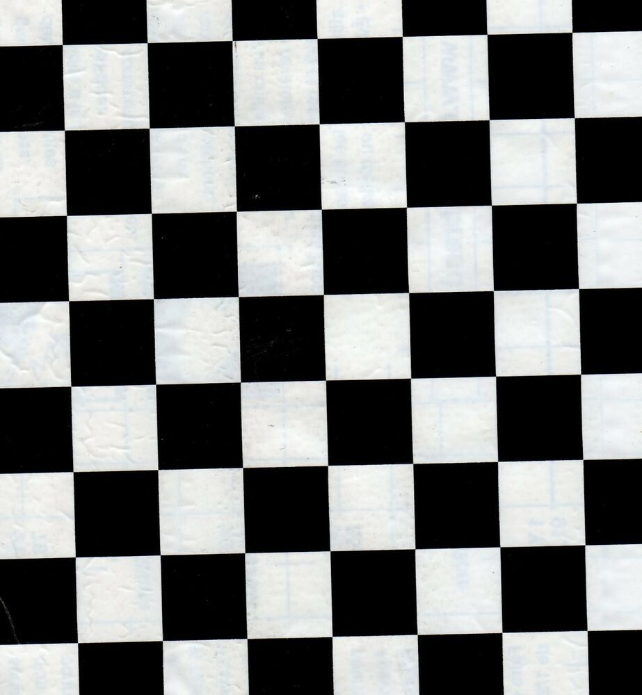 Black white checkered liner contact paper 9 ft nascar ebay for Where to buy contact paper for crafts