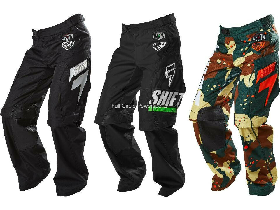 Shift Mx Racing Recon Over The Boot Riding Pants Motocross