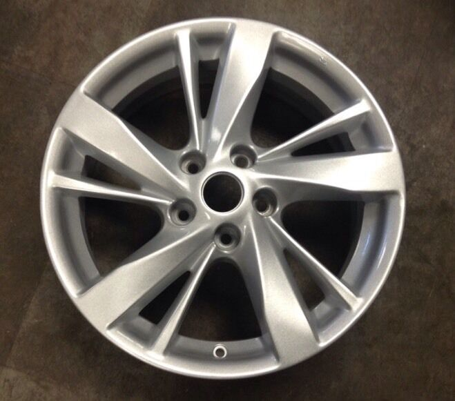 nissan altima 2013 2014 62593 aluminum oem wheel rim 17 x 7 5 ebay. Black Bedroom Furniture Sets. Home Design Ideas