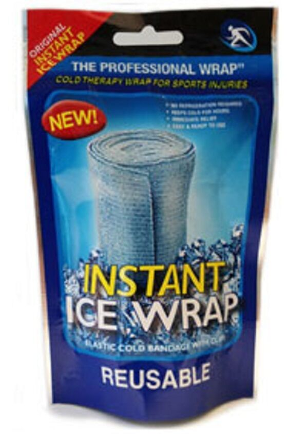Instant Gel Packs : New instant ice wraps cold quot ace bandages pack