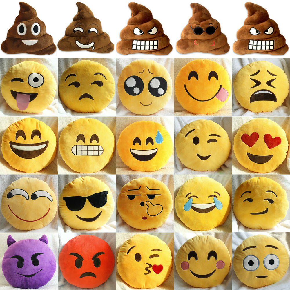 Emoji Smiley Emoticon Cushion Pillow Stuffed Plush Soft  : s l1000 from www.ebay.co.uk size 1000 x 1000 jpeg 239kB