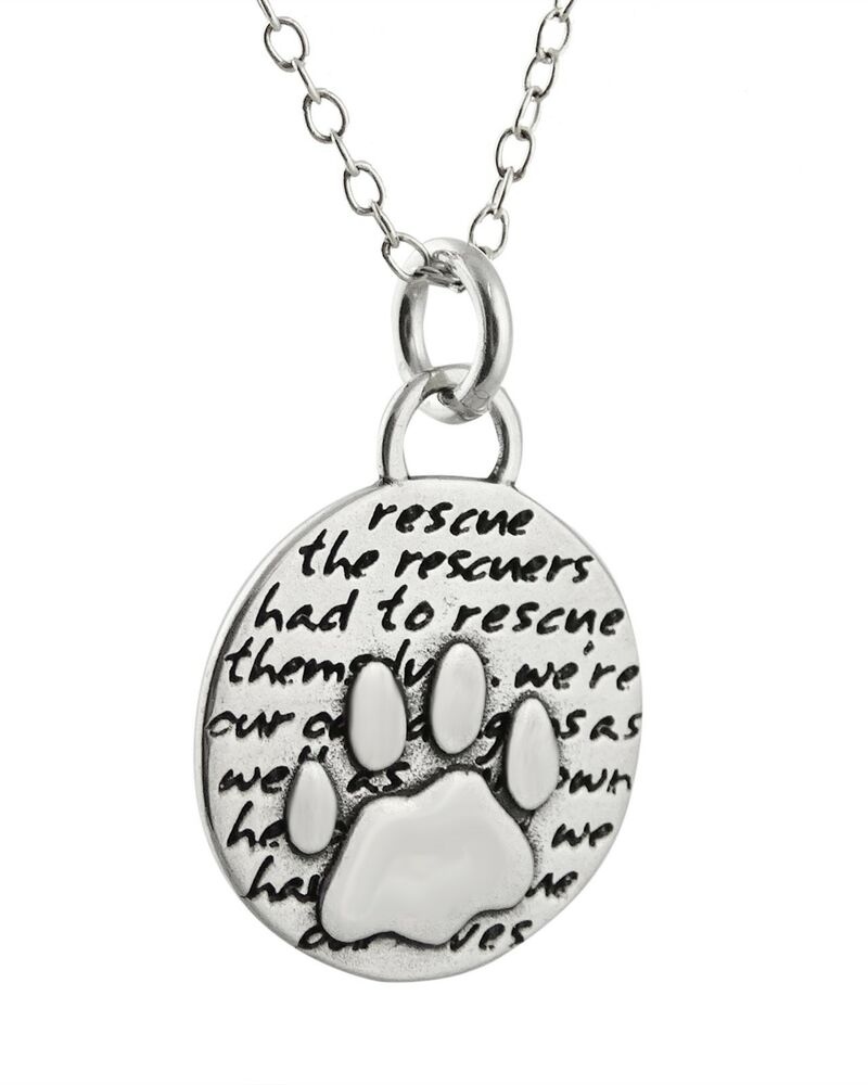 Silver Paw Cavachons: 950 Sterling Silver