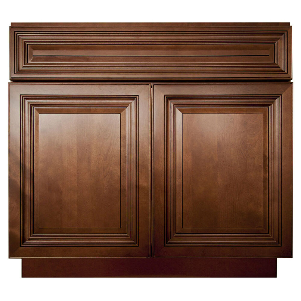 Lesscare Geneva 24 Bathroom Maple Vanity Sink Base Cabinets Ebay