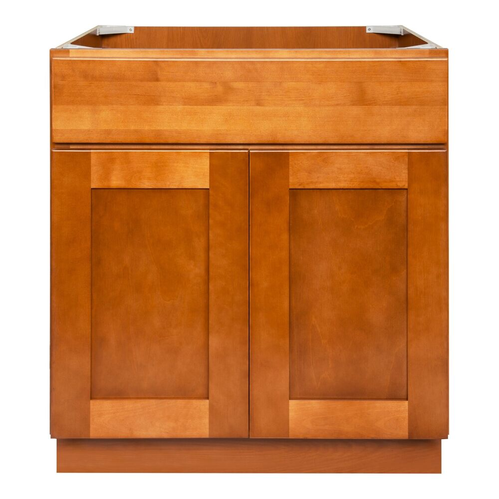 Lesscare Newport 30 Bathroom Maple Vanity Sink Base Cabinets Ebay