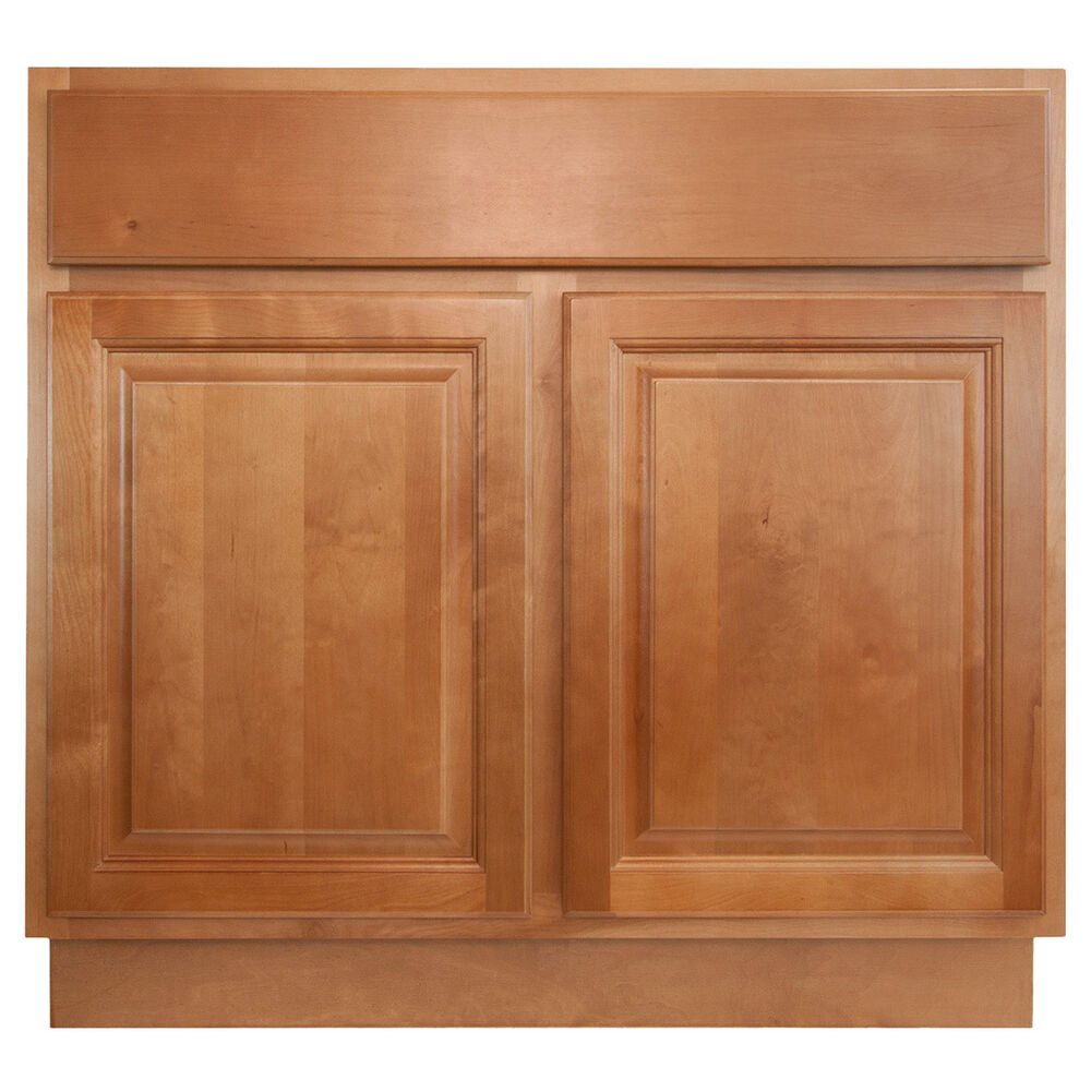 Lesscare Richmond 36 Bathroom Maple Vanity Sink Base Cabinets Ebay