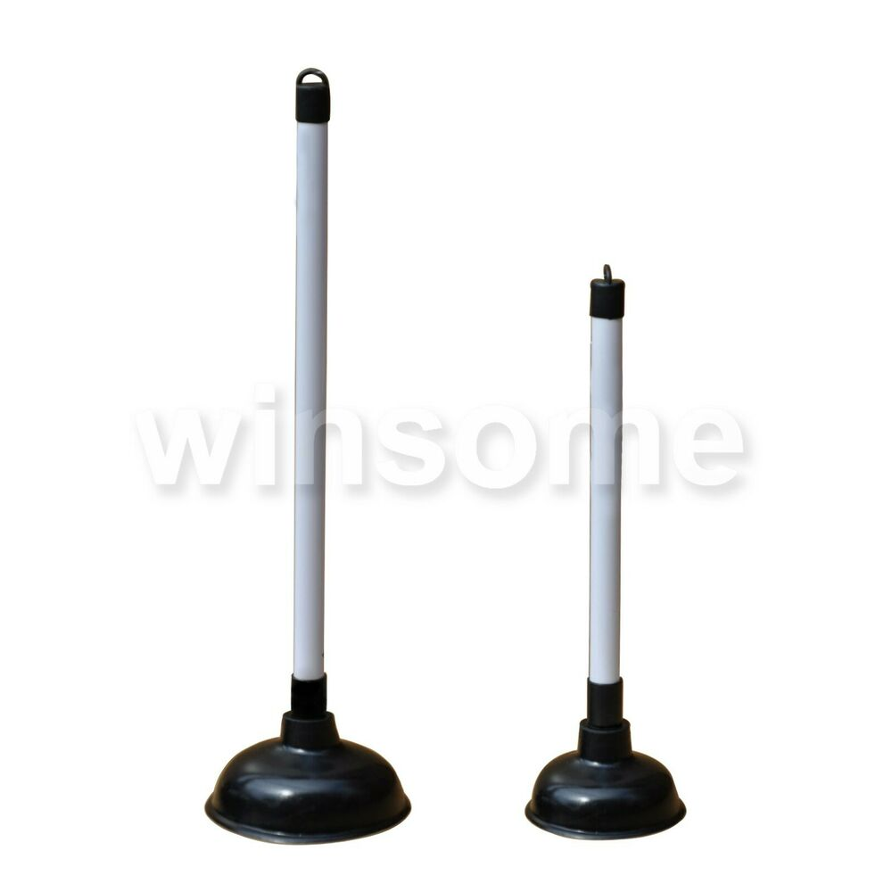 36 50cm long bath sink toilet kitchen plunger drain for Toilet drain pipe