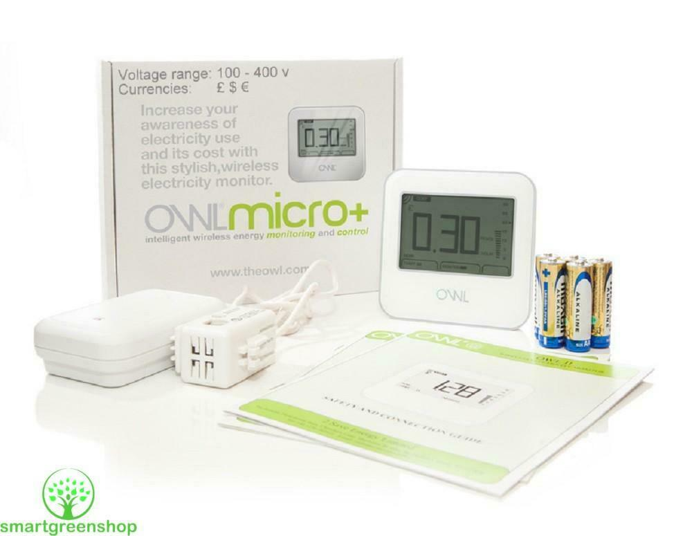 Wireless Home Energy Monitor : Owl micro cm wireless home electricity monitor energy