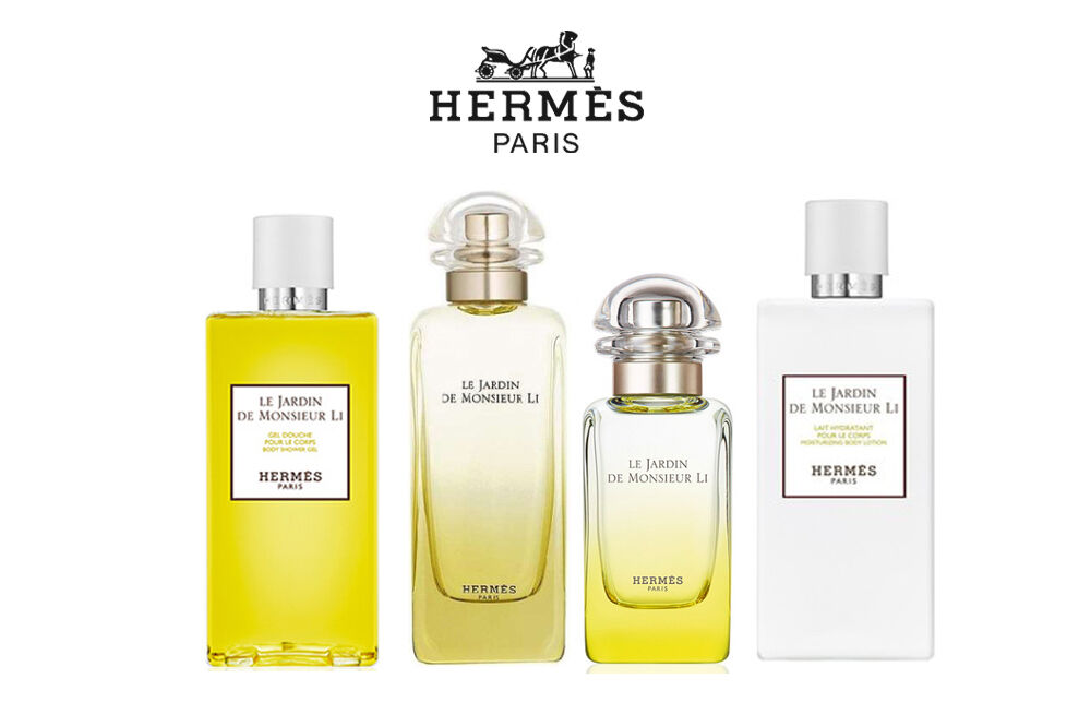 Hermes le jardin de monsieur li fragrance collection each for Le jardin de lea