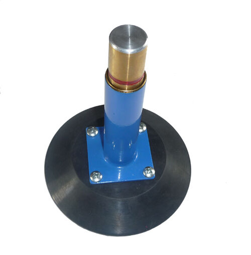 "What Does Suction Cupping Your Back Do: 6"" Vertical Vacuum Suction Cup With Metal Handle"