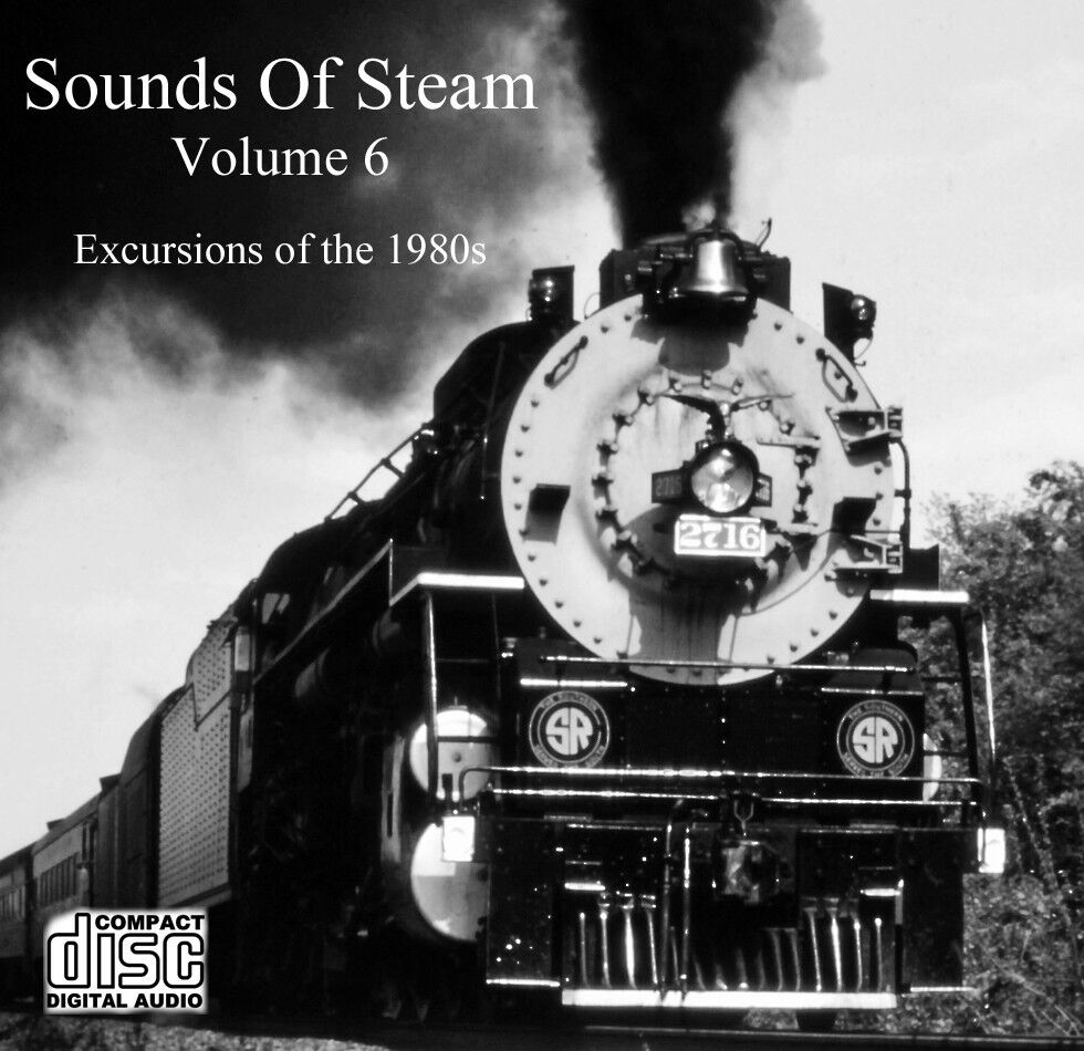 Train Sounds On CD: Sounds Of Steam, Volume 6 | eBay