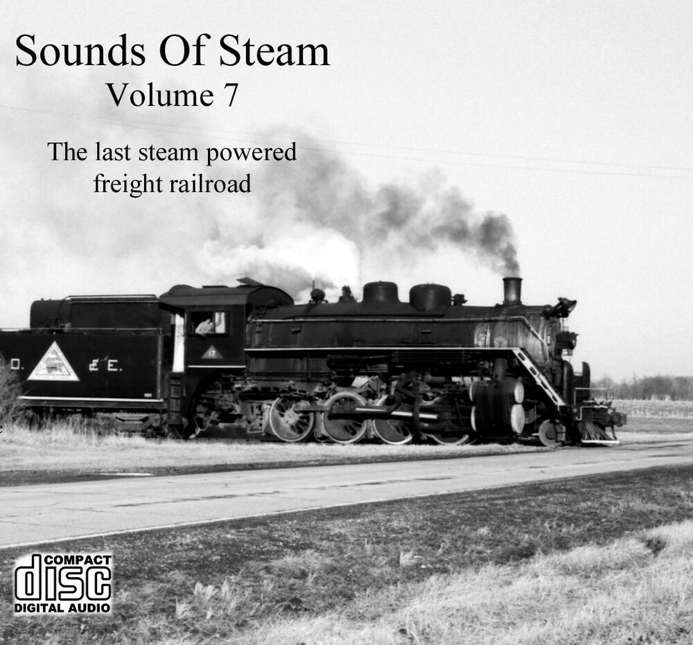 Train Sounds On CD: Sounds Of Steam, Volume 7 | eBay