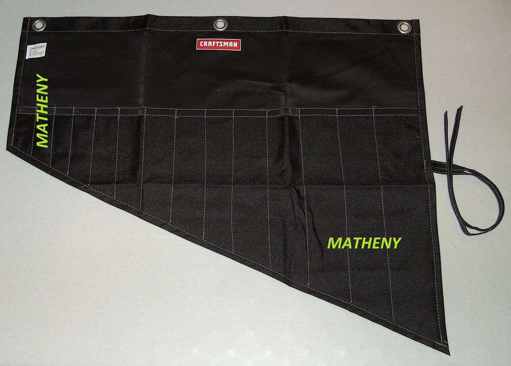 Craftsman Roll Up 14 Pocket Tool Pouch Wrench Holder