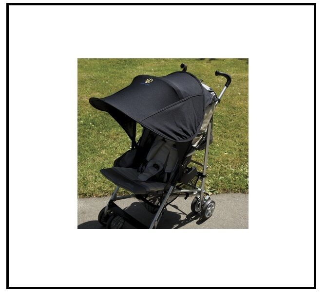 new diono shade maker canopy solar cover pram stroller sun cover baby pop open ebay. Black Bedroom Furniture Sets. Home Design Ideas