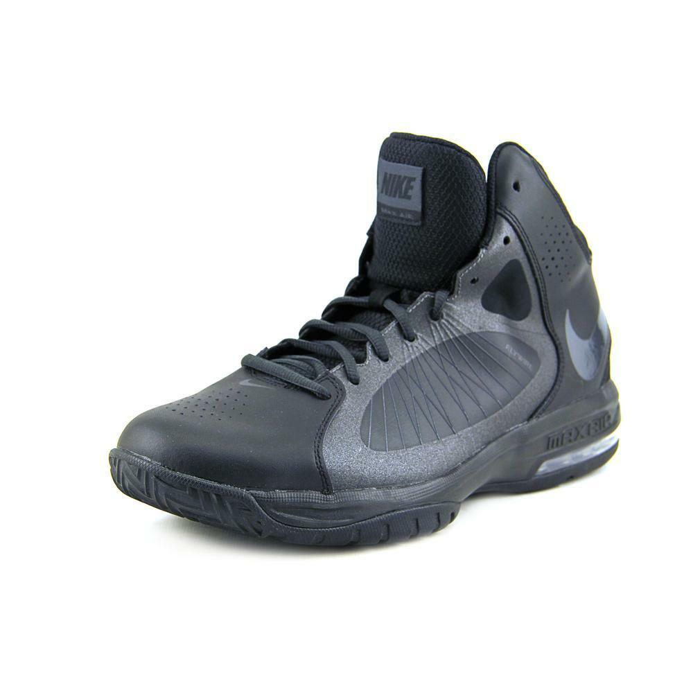 Nike Flywire High-tops Men Leather Basketball Shoe W/out ...