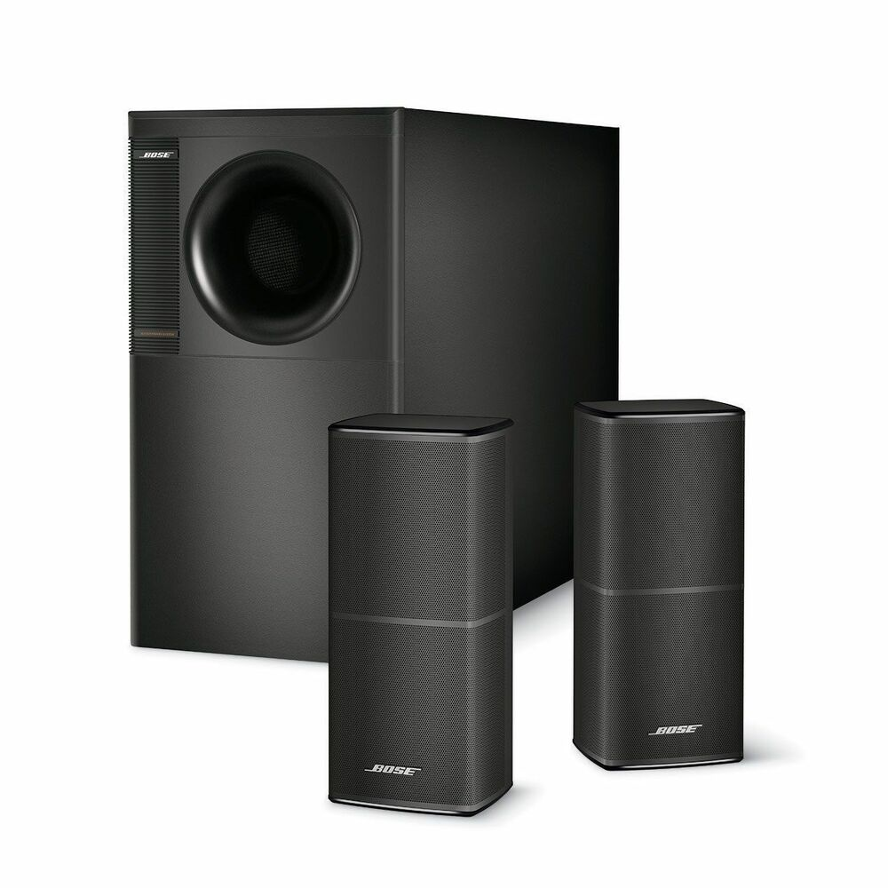 bose acoustimass 5 series v stereo speaker system black ebay. Black Bedroom Furniture Sets. Home Design Ideas