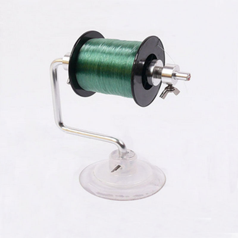 Durable lightweight fishing line winder reel spool spooler for Fishing line winder