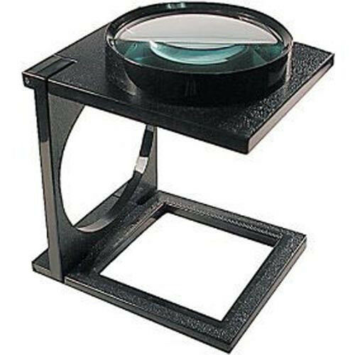 Desk Magnifying Glass : Giant linen magnifier magnifying glass stand desk quot ebay