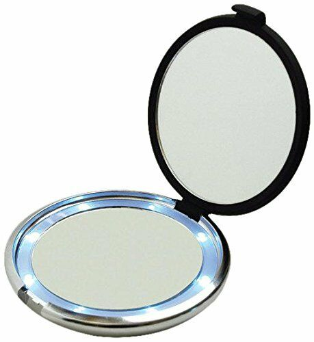 Floxite Led Lighted Dual Sided 1x 10x Magnifying Compact