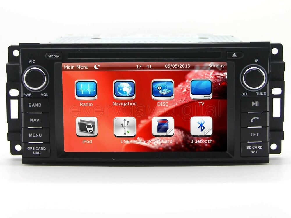 Car Stereo DVD Player GPS Navigation Radio Touch Screen