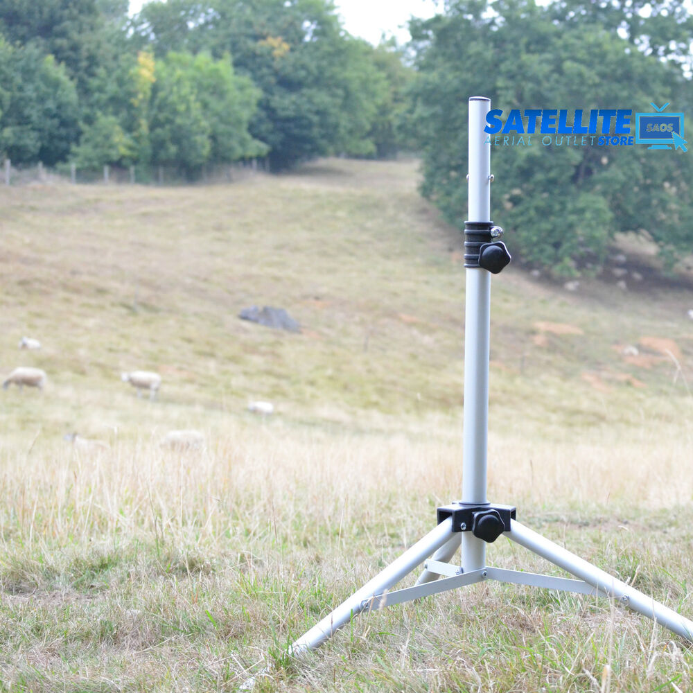 Satellite Dish Tripod Mount Stand For Camping Touring