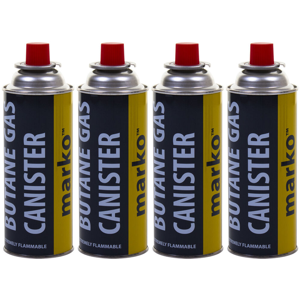 16x BUTANE GAS BOTTLES CANISTERS PORTABLE STOVES COOKERS GRILL HEATERS WEED WAND
