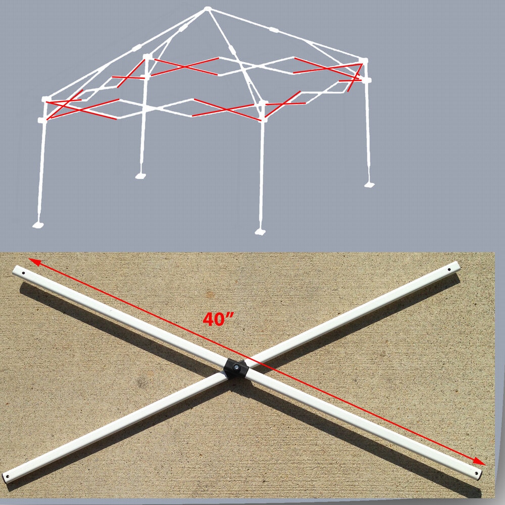 E Z Up Instant Shelter Parts : E z up envoy x instant canopy gazebo side truss bars