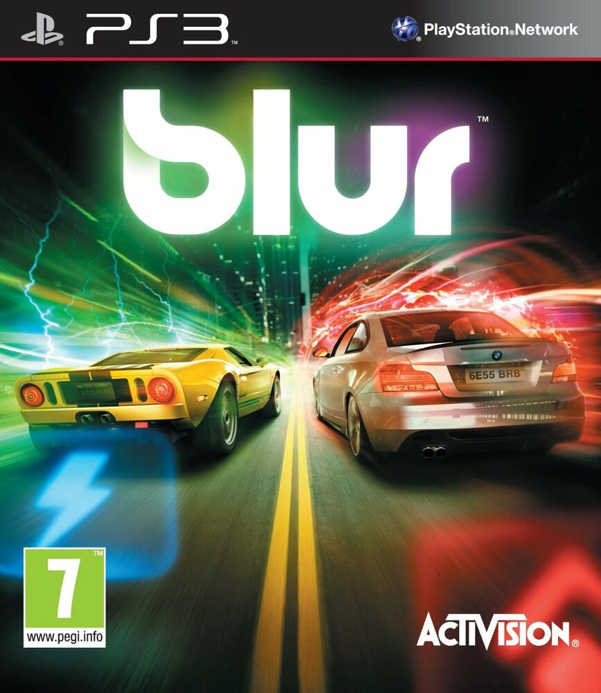 Games For Ps3 Only : Ps game blur auto racing without cover only disc and