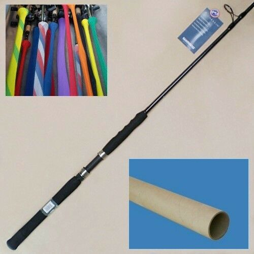 Shimano tallus 7 39 2 blue water spinning rod saltwater for Blue fishing rod