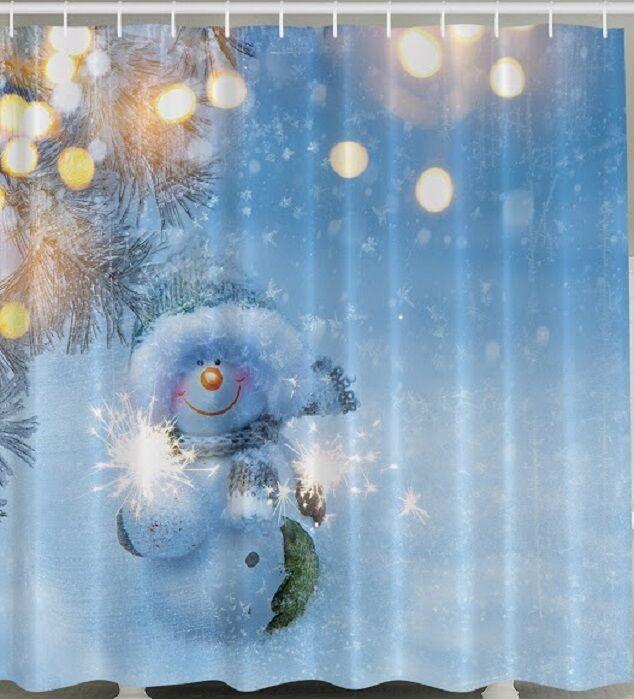 Holiday Shower Curtains Christmas