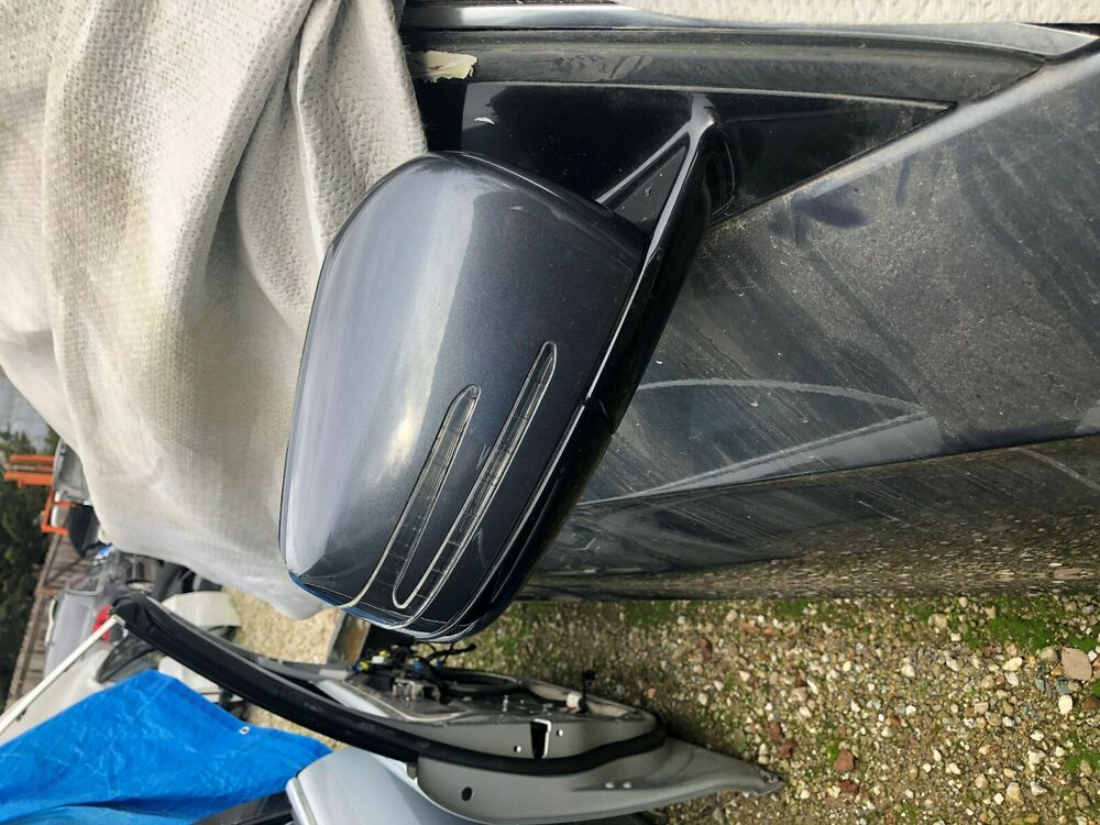 2010 2013 mercedes benz w212 e350 e550 e63 amg heated side for Mercedes benz side mirror