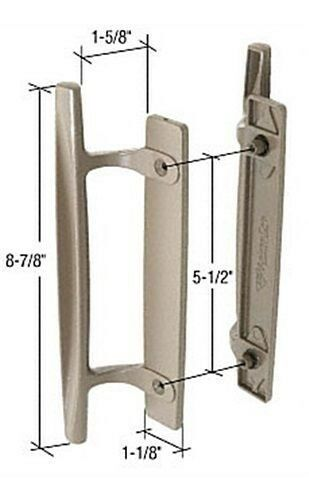 Andersen Window Trim Set Hardware Stone 8 7 8 Quot Sliding