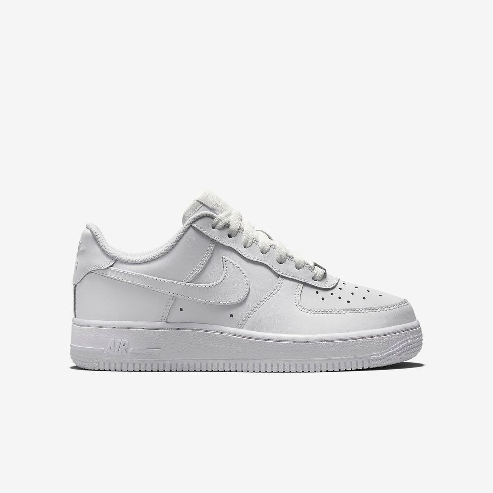 new nike youth air force 1 low gs kid 39 s shoes 314192 117. Black Bedroom Furniture Sets. Home Design Ideas
