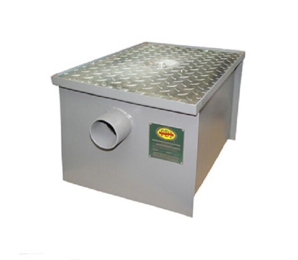 Industrial Kitchen Grease Trap: New 50 LB Commercial Grease Trap Interceptor