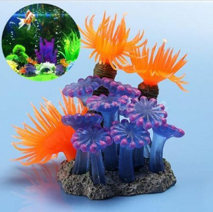 Artificial resin coral for aquarium fish tank decoration for Artificial coral reef aquarium decoration uk