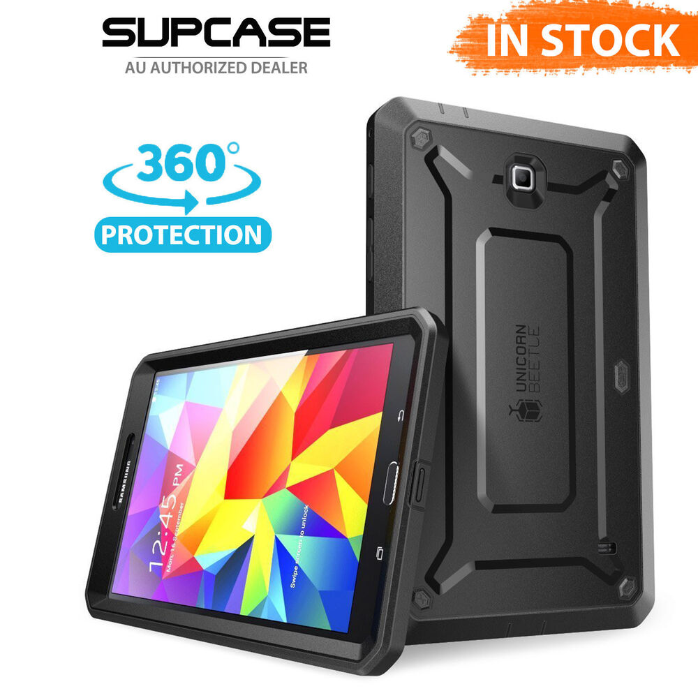 genuine supcase for samsung galaxy tab 4 8 0 full body. Black Bedroom Furniture Sets. Home Design Ideas